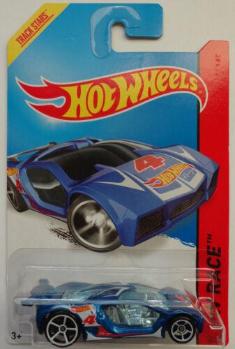 Blue Version #142 2014 Hot Wheels HW RACE Impavido 1 Col Int. Card
