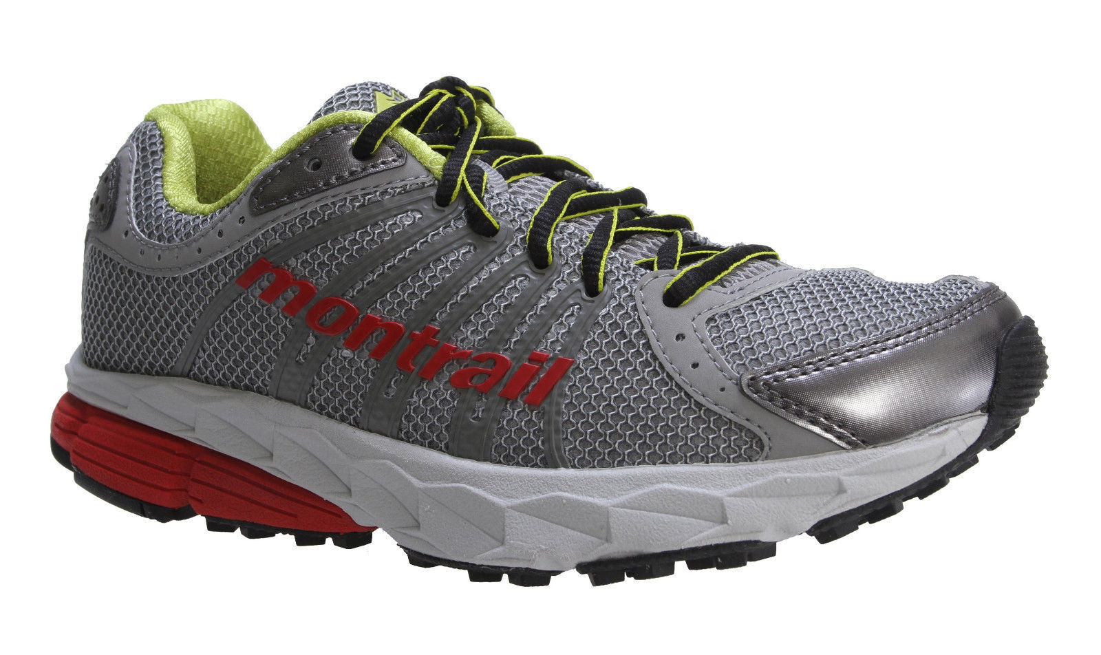 NEW Womens Montrail FluidBalance Retail Trail Running Shoes Grey Icy/Juicy Retail FluidBalance $100 67c2f9