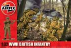 Airfix A02718 WWII British Infantry Figures Plastic Soldiers Military Model 1 32