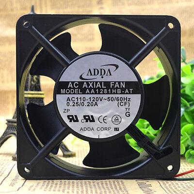1 PCS ADDA Axial flow fan AA1281HB-AT AC 110V  12CM 12038 2 Wire