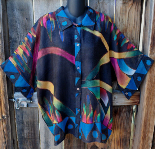 de la main de Un inspiré chemise Dilemma art à la vêtement laine de inspiré peint extrafine du 5wpvwPrq
