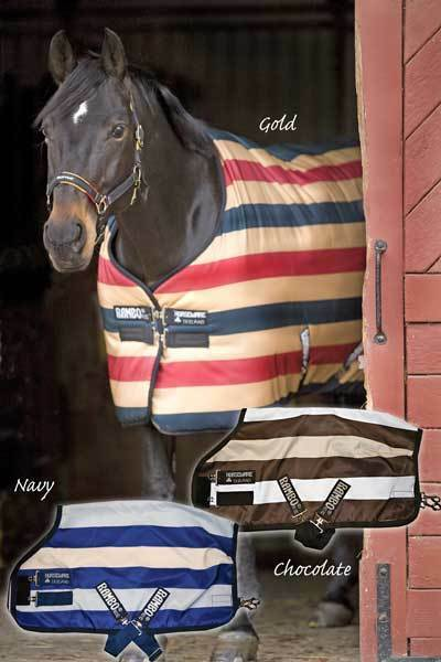 RAMBO NEWMARKET STABLE RUG gold(BRAND NEW)(SIZE 66 )