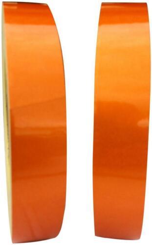 Cinta Reflectante Naranja 25mm X 3m-Resistente A La Intemperie Exterior Calcomanía Adhesivo