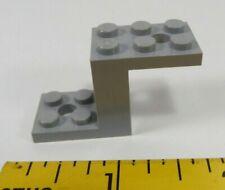LEGO LOT 40 X BRACKET 1X2 90° DARK STONE GREY REF 99781 *NEUF*