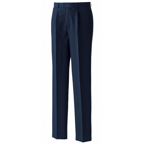 Premier Single Pleat Easy Care Mens Business Smart Trousers Office work Pant New
