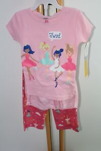 001151671 Carter s Carters Girls Size 3T Ballerina Twirl Pajamas Sleepwear ...