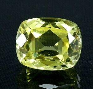 7.80 Ct Natural Yellow Sapphire Cushion Cut AGSL Certified Loose Gemstone