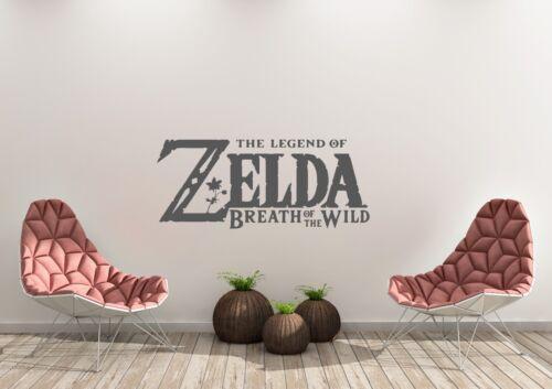 The Legend Of Zelda Breath Of The Wild Gaming Wall Art Decal Vinyl Sticker