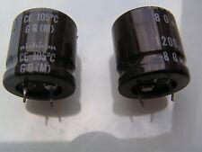 Nichicon Electrolytic Capacitors 80V 1200uf 105'C GQ(M) 2 pieces OL0522