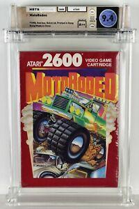 MOTORODEO Atari 2600 Brand New Factory Sealed WATA 9.4 A++ Seal