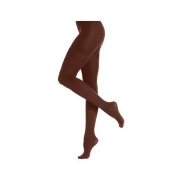 99c880e2c31249 Star Power by Spanx Hosiery Sz A Java Brown Center Stage Shaping Tights 2154