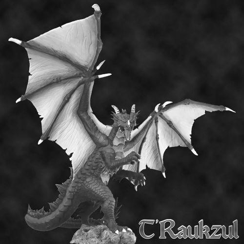 precio mas barato 1 x T RAUKZUL - BONES BONES BONES REAPER figurine miniature rpg d&d dragon winged ailé 77585  Envío rápido y el mejor servicio