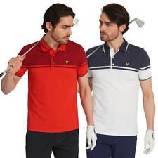 Lyle & Scott Mens Croft Stretch Wicking Soft Golf Polo Shirt 45% OFF RRP