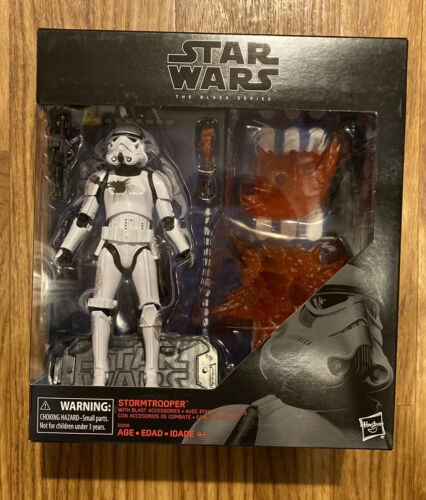 STORMTROOPER WITH BLAST ACCESSORIES STAR WARS THE BLACK SERIES HASBRO SEALED