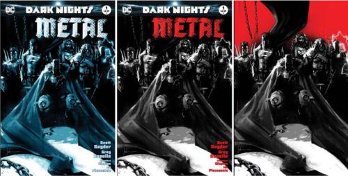"""DARK NIGHTS METAL #1 KRS COMICS BLUE BLACK VIRGIN /""""HEAVY METAL/"""" JOCK EXCLUSIVES"""