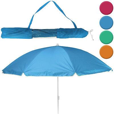 Sonnenschirm Strandschirm Gartenschirm Sonnenschutz Tasche Schirm Strand 156cm