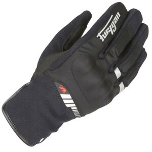 Furygan-Jet-All-Season-Textile-Motorcycle-Gloves-Black