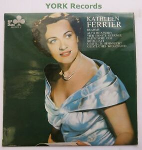 Details about KATHLEEN FERRIER - Brahms Vocal Works - Ex Con LP Record Ace  Of Clubs ACL 306