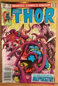 The-MIGHTY-THOR-310-1981-MARVEL-Comics-GD-Book