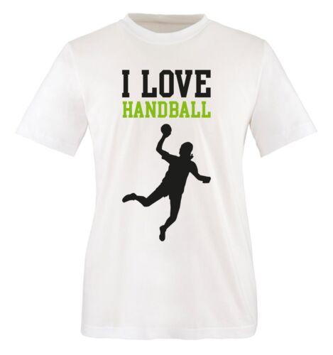 I LOVE HANDBALL Kinder T-Shirt