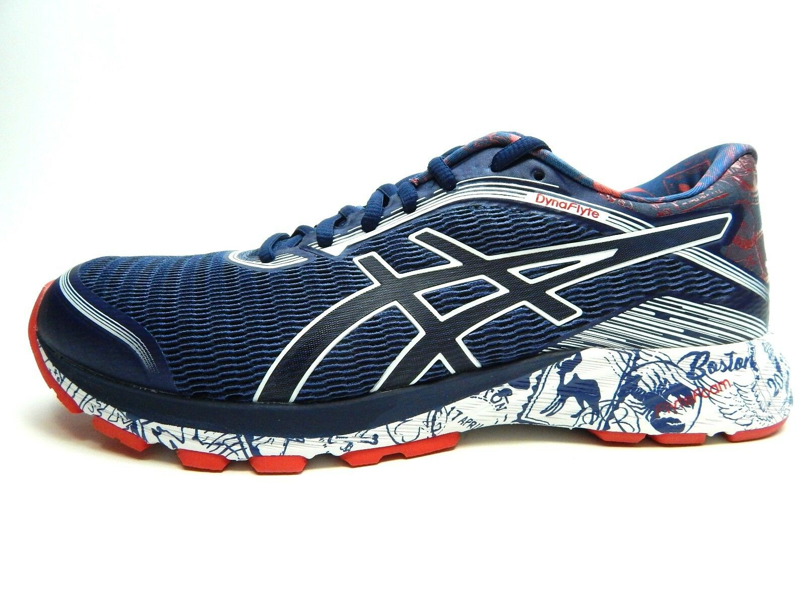 ASICS DYNAFLYTE T75AQ 2017 INDIGO BLUE WHITE WOMEN SHOES SIZE SIZE SHOES 10 & 11 d92732