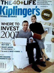 RARE-Magazine-Kiplinger-039-s-Personal-Finance-January-2007-Where-to-invest-2007