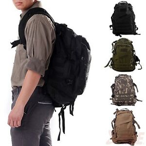 Heavy Duty 30L Molle Backpack Hiking Outdoor Everyday Tactical Adventure Pack