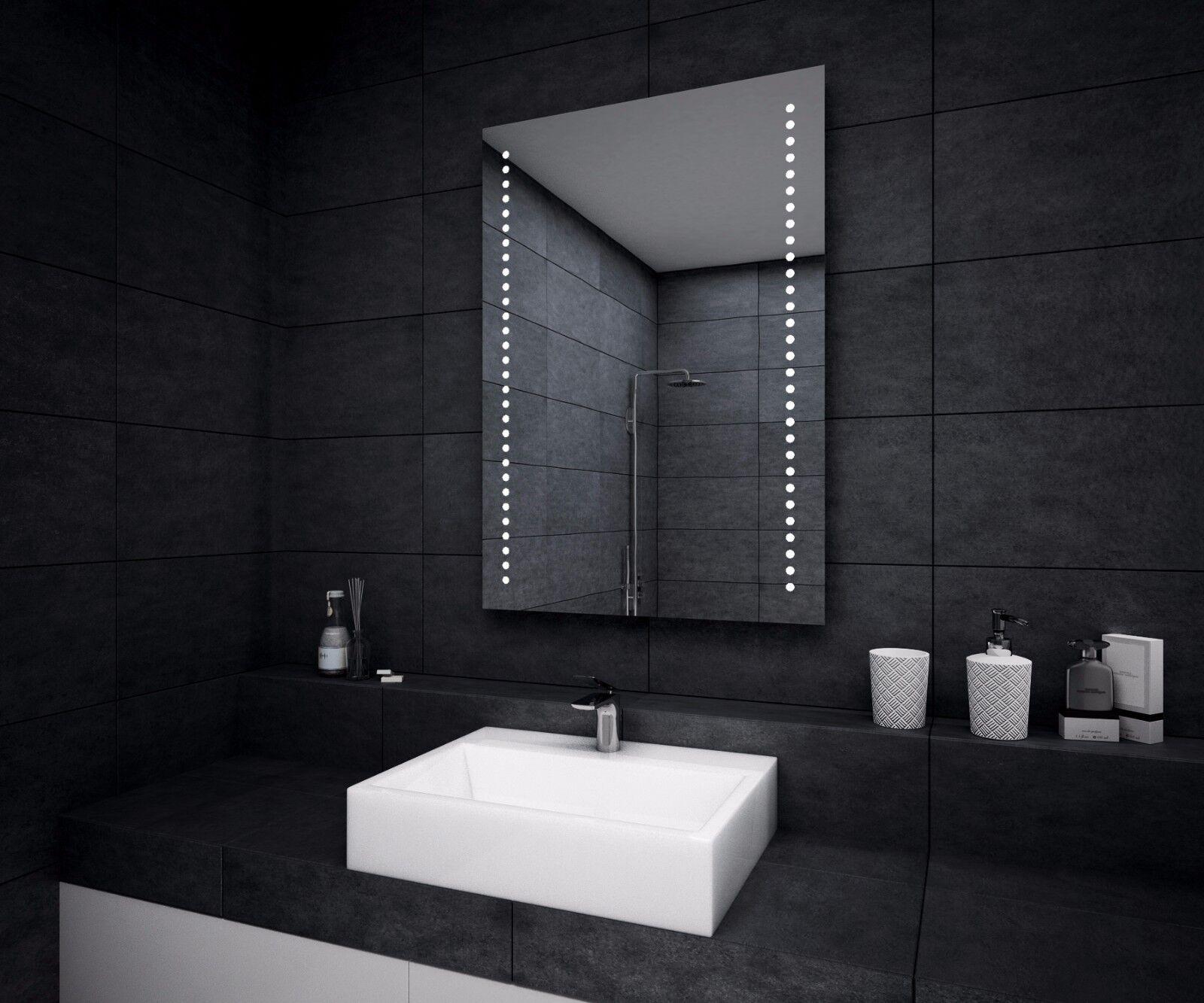 LED ILLUMINATED BATHROOM MIRROR   Demister   Sensor