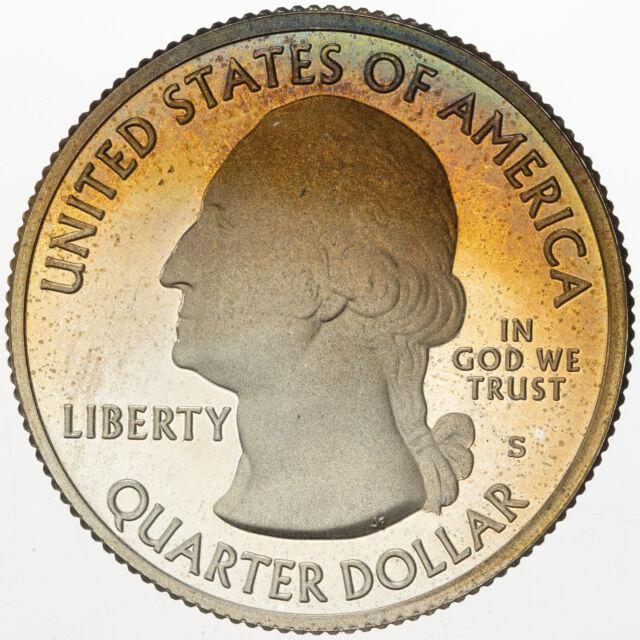 Proof 2011 Chickasaw OK S America the Beautiful Quarter