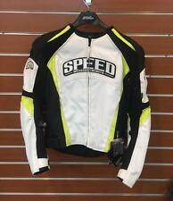 NEW SPEED & STRENGTH MEN'S HIGH VIS MOTORCYCLE RIDING GEAR TWISTED FATE JACKET S