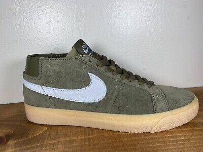 NEW Nike SB Zoom Blazer Chukka Men's Size 7 'Medium Olive Armory' AT9765  201 | eBay