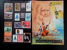 MONELLO ALBUM FIGURINE GLI INDIMENTICABILI ALLEGATO AL n° 13 DEL 1972