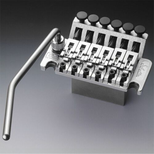 NEW Schaller Floyd Rose Locking Tremolo With R2 Nut CHROME