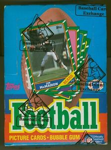 1986 Topps Football Unopened Wax Box -Possible Rice & Young RC-BBCE Authentic