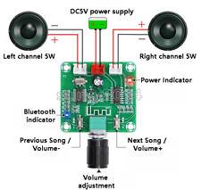 Bluetooth 50 Hd Amplifier Board Pam8403 Power Wireless Dual Channel Stereo 25w