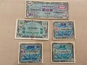 Lot-banknote-yen-2nde-world-war-0-10-0-50-1-10-20-yen-all-sub