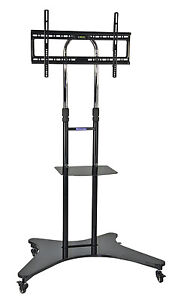 Image Is Loading Professional Mobile Height Adjule Office Tv Television Stand