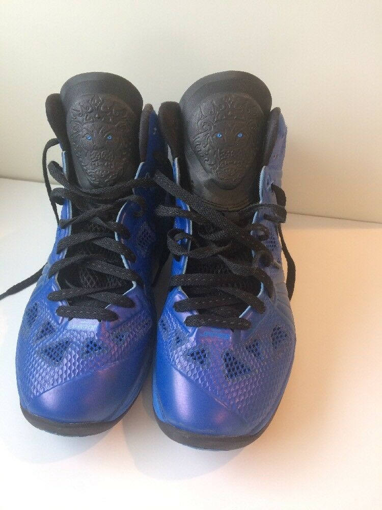 NIKE LEBRON JAMES 8 VIII PS ROYAL BLUE  441946-400 size 8.5