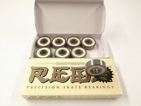 8 Pack Bones Super Reds Ceramic Bearings  skate long board fidget inline 608 8mm