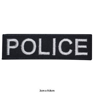 Police-Games-Movie-Embroidered-Patch-Iron-on-Sew-On-Badge-For-Clothes-Bags-etc