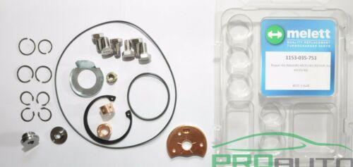 Melett turbocompresseur turbo rebuild repair kit for holset HX35//40 w