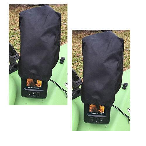 """4/"""" Modèles-modèle d/'économie 2-Pack Max depth Finder Poly Sun Cover pour 3/"""""""