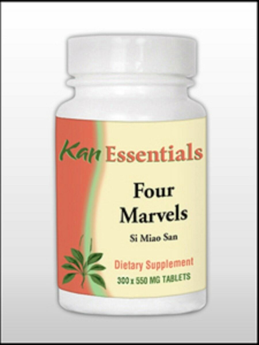 Kan Herbs Essentials FOUR MARVELS for Pets Dogs 300 Tablets   New