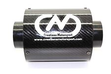 Carbon Fibre Air Filter Universal Airbox Induction Performance W175mm x H 132mm