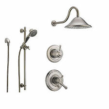 Delta Cidy Collection Stainless Steel Finish Custom Shower System Ss179782ss