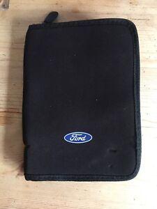 *** RÉduit *** Ford Drivers Handbook Portefeuille-afficher Le Titre D'origine