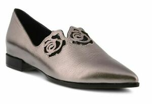 SPRING-STEP-AZURA-FANTASIC-POINTY-TOE-LEATHER-FLAT