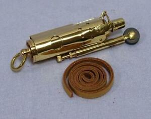 Antique-French-Sturm-Lighter-Retro-Petrol-Lighter-Brass
