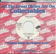 BILLY PRESTON re-issue 45 Space Race / Will It Go Round In Circles Mint Minus