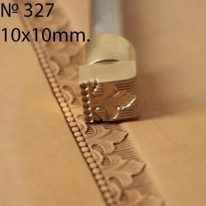 Stamp tool Leather crafting crafts brass saddle making stamps saddle #219